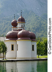 St Bartholomew's Church, Berchtesgaden National Park, Lake Konig