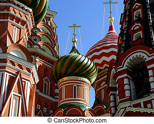 St. Basil Cathedral - Details of St. Basil Cathedral