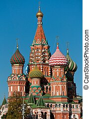 St. Basil Cathedral, Russia, Moscow