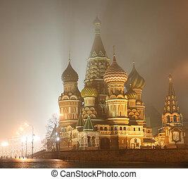 St. Basil\\\'s at Night