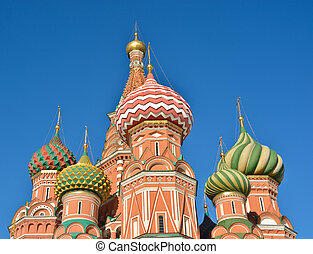 St Basil's Basilica - the world cultural heritage of UNESCO.
