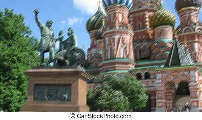 St. Basil's Cathedral and monument