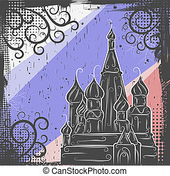 St. Basil's Cathedral background