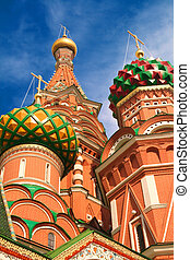 St Basil\'s Cathedral, Moscow, Russia