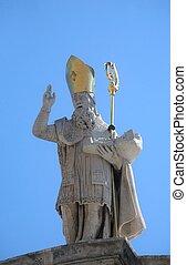 St. Blaise patron of Dubrovnik
