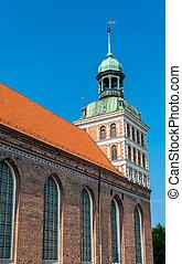 St. Bridget Church in Gdansk, Poland