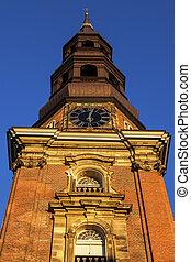 St. Catherine's Church in Hamburg