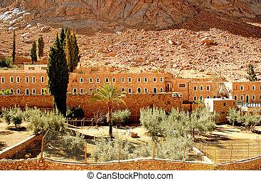 St. Catherine\'s monastery - The Greek Orthodox monastery of...