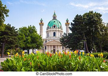 St. Charles's Church in Vienna