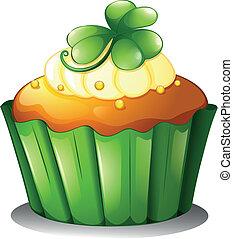 st. dia patrick, cupcake