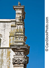 St. Domenico Church. Martina Franca. Apulia.