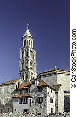 St Domnius Cathedral  in the city of Split, Croatia