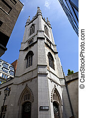 St Dunstan-in-the-East Church in London - St....