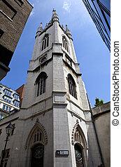 st, dunstan-in-the-east, kirche, in, london