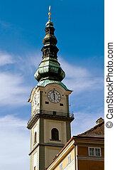 St. Egyd Parish Church in Klagenfurt, Austria