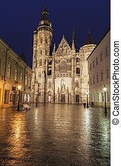 St. Elisabeth Cathedral in Kosice. Kosice, Kosice Region, Slovakia.