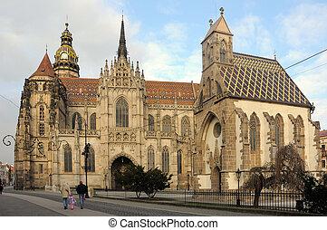 St. Elisabeth Cathedral (slovak: Dom svatej Alzbety), in...