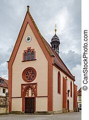 St. Elisabeth church, Bamberg, Germany - St. Elisabeth...