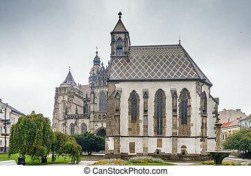 st., elisabeth, kosice, スロバキア, 大聖堂