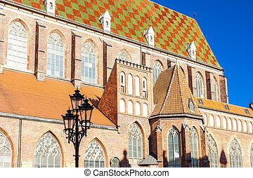 St Elisabeth, Wroclaw, Silesia, Poland - St Elisabeth's...