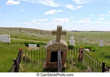 st., elizabeth, chiesa, cemetary, pietra