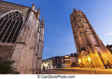 St Eloi Church and Belfry in Dunkirk