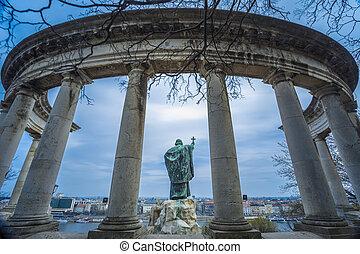 St. Gellert statue, Budapest