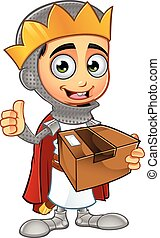 St George Boy King Character