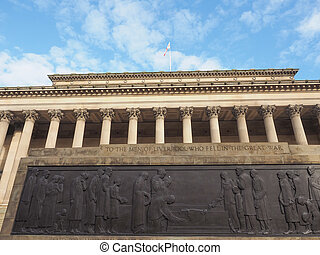 St George Hall in Liverpool