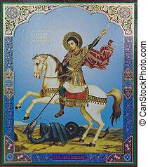 st. george, icono