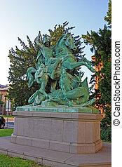 St George Killing the Dragon