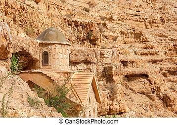 St. George Orthodox Monastery is located in Wadi Qelt.