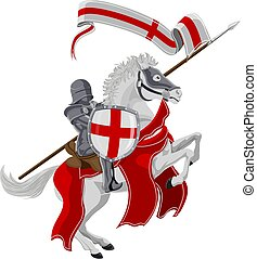 St George Patron Saint of England - St George the medieval...