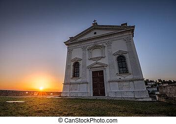 St. George's Church in Piran, Slovenia