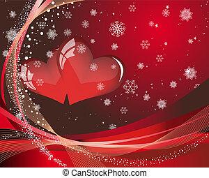 st., giorno, scheda, valentine