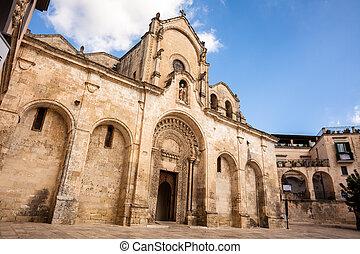 St. Giovanni Battista Church, Matera (Basilicata, Italy)