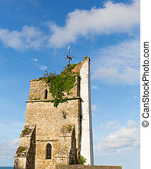 St. Helen's old church tower IOW - St. Helen's old church...