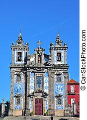 st. 。, ildefonso, porto, ポルトガル, 教会