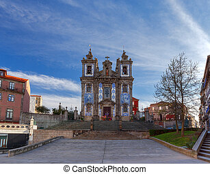st. 。, ildefonso., porto., 教会
