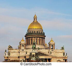 St. Isaac's Cathedral in Sankt-Peterburg