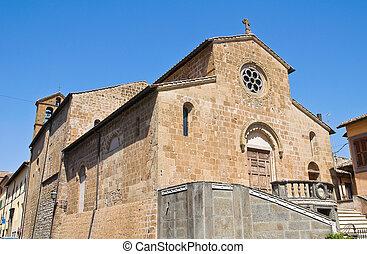 st. 。, italy., capranica., lazio., 教会, francesco.