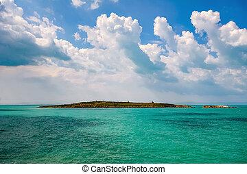 St. Ivan Island. Largest Bulgarian island in the Black Sea