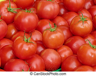 St Jacobs Village red tomatoes 2013 - Red tomatoes on bazaar...