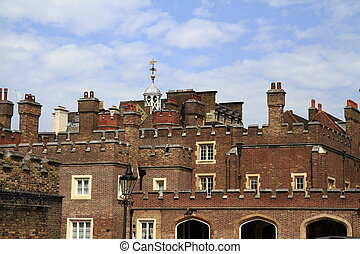 St. James Palace in London