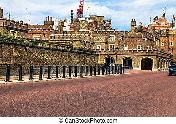 St. James Palace in Pall Mall, London, England, UK - St....