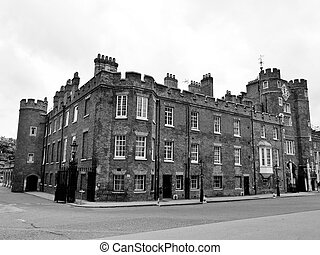 St James Palace in Pall Mall, London, England, UK