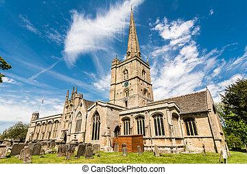 St John the Baptist church, Burford - St John the Baptist ...