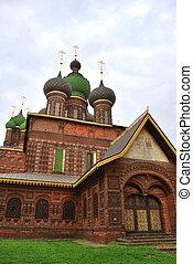 St. John the Baptist Church in Yaroslavl, Russia