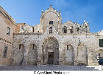 St. John the Baptist Church. Matera. Basilicata.