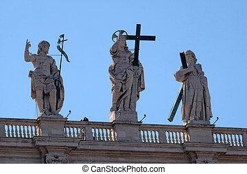St. John the Baptist, Jesus, St. Andrew